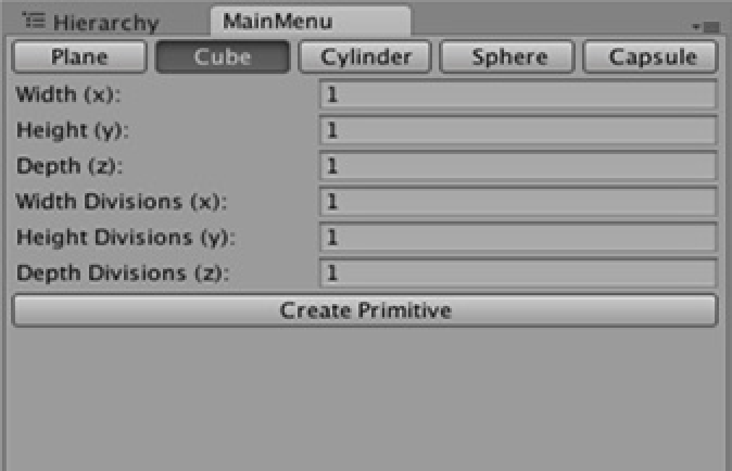 ProPrimitives – Parametric primitives in Unity3D « Pencil Square